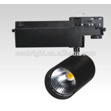 Pista de luz led de 30W/50W cob / ce rohs led pista 3 años garantía pista luz led luz del punto