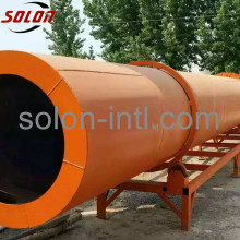 Drum dryer with sawdust for pallet block machine