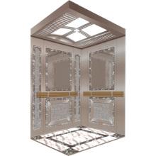 Elevador de passageiros elevador espelho gravado Aksen Hm-2000-5