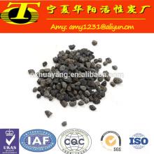 Les médias filtrants de poudre de fer d'éponge de catégorie technique d'environnement ont fait en Chine