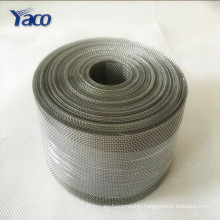 50 micron Dutch weave black wire mesh/cloth/screen
