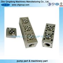 Trocador para peças Macining com tipos de material