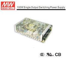 Mean Well Fuente de alimentación de marco abierto de 100W (NES-100)