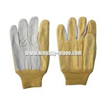 Hotmil Anti-Heat 2 couches de gant de travail en coton-2109
