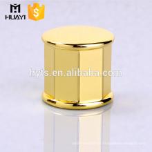 most popular gold perfume bottle custom caps