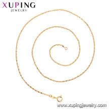 44206 xuping colar de acessórios de moda 18 k banhado a ouro jóias para as mulheres