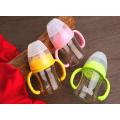 Crystal Diamond 4oz 120ml Широкая стеклянная бутылочка для младенцев с шейкой