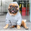 Chaqueta ligera con capucha impermeable para perros