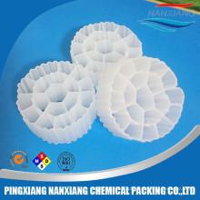 filtragem biológica plástica da lagoa de peixes dos aquários dos meios de filtro do tratamento de águas residuais / meios de filtro plásticos do MBBR bio