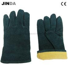 Перчатки из натуральной кожи (L005)