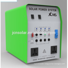 solar power system for small homes with AC DC charger inside