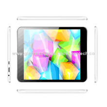 3G Android Tablet PCs, 7.85-inch LCD Panel, 1,024 x 768P (TN Panel) DDR3 1GB, RAM 8GB
