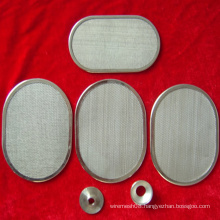 Five Layer Sintered Filter Disc