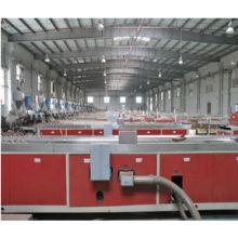2014! Máquina do perfil do DOIS PASSOS WPC para a linha de produção do wpc / máquina composta plástica de madeira