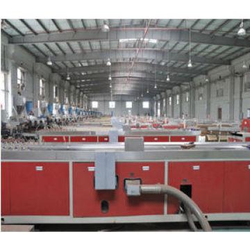 2014 NEW DESIGN BUILDING PANEL PRODUCTION LINE CHINA WPC DOOR MACHINE PVC DOOR PRODUCTION LINE