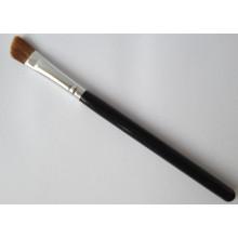 Brosse synthétique pour cheveux et poils à main en bois