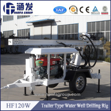 Superior Quality Small Rock Drilling Rig (hf120W)