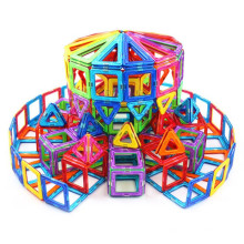 Brinquedo de construção intelectual bloco magnético