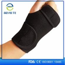 Suporte de pulso de couro tyvek ortopédicos para homens
