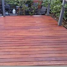 Planta aceite Merbau cubierta exterior para jardín
