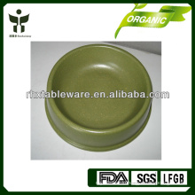 biodegradable bamboo fiber dog bowl