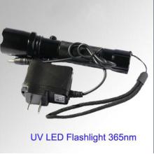 UV LED Torch 365nm LED Torch 3W