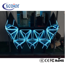 Factory making for Dj Led Display,Led Board Display,Led Rental Display Manufacturers and Suppliers in China Slim Panel Flexible DJ Background LED Display export to Russian Federation Wholesale