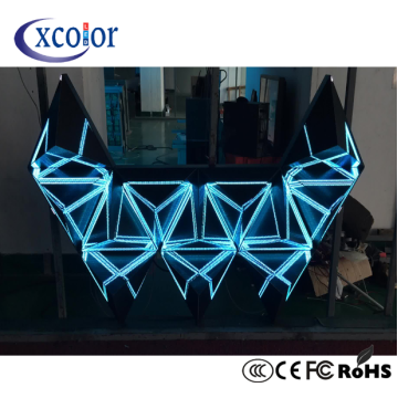 OEM Customized for Dj Led Display,Led Board Display,Led Rental Display Manufacturers and Suppliers in China Slim Panel Flexible DJ Background LED Display supply to Poland Manufacturer