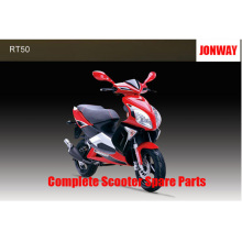 Jonway RT50 125 repuestos de scooter completos Repuestos originales