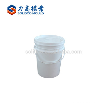 High Quality Cheap Custom Industrial Barrel Injection Mould Chinese Supplier Paint Bucket Mould