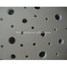 Placa perfurada de gesso tamanho padrão / placa de gesso fabricante
