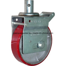 Europe Type Adjustable Scaffolding Caster with Brake