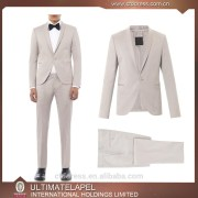 Tailored Black One Button Side Cut Man Wedding Dress Groom Suits (Jacket+Pants+Tie) DR701 Custom Made Man Suit/Wedding Suit 2016