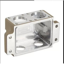 High Precision Aluminium Die Castings , White Machined Box For Equipment