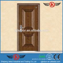 JK-F9017 porta de fogo de madeira de alta classe porta de fogo residencial