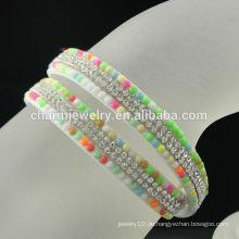2016 Neues Design Custom Crystal Wrap Dame Bracelet Free Probe BCR-018-1