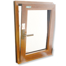 Janela de batente inferior pendurada Abertura para dentro / janela pendurada de alumínio