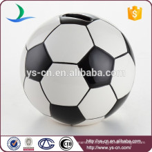 Porte-monnaie de football en céramique pour garçons