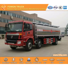 FOTON 6X2 aluminum oil transport truck 25m3
