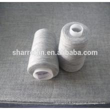 Beaucoup de couleurs 28NM / 1 50/50 laine mélangée de nylon