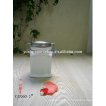 Botella hermética cerámica del almacenaje del café caliente del estilo para la venta