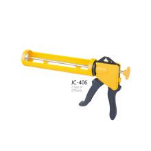 JC-408 Silicone Sealant Cylinder PNEU Gun Plastic Handle Caulking Gun
