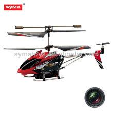 Syma S107C rc helicóptero con cámara inalámbrica, 3ch helicóptero metal juguetes