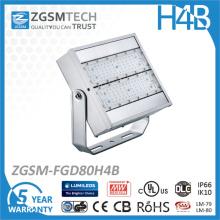 Projetor LED de 80W com preço acessível para Philips e Meanwell