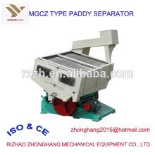 MGCZ gravedad tipo paddy RICE máquina separadora