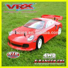 Nuevo coche rc, coche de touring 1/10 X-ranger EBL, coche de la deriva rc con sistema de luz