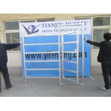 Panneaux galvanisés à quincaillerie à cinq barils en acier