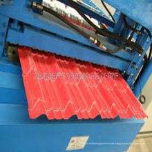 Metall Farbe Dach Bereich; Umformmaschine