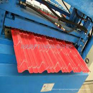 Metal Color Roofing Pane; Forming Machine