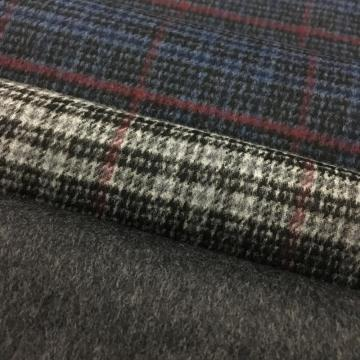 Brushed Wool Worsted Woven Fabric